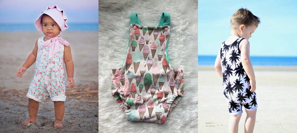 Summer Rompers for Kids and Toddlers 2016