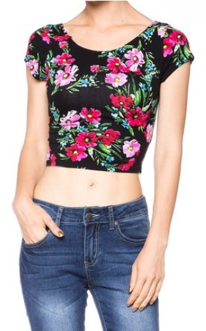 15 Gorgeous Crop tops for Spring 2016 7