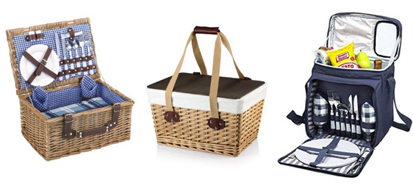 20+ Amazing Picnic Baskets and Bags for Summer 2016