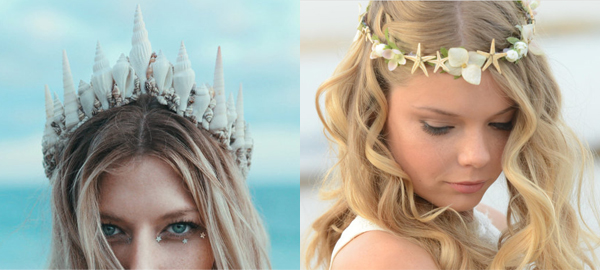 20 Bridal Seashell Crowns for Summer 2016