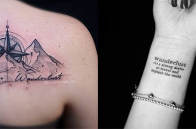 20+ Wanderlust Tattoo Ideas 2016