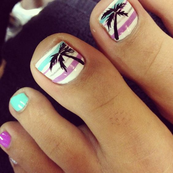 Amazing and Creative Toe Nail Art Ideas for Summer 2016 1