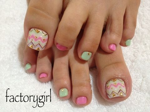 Amazing and Creative Toe Nail Art Ideas for Summer 2016 11
