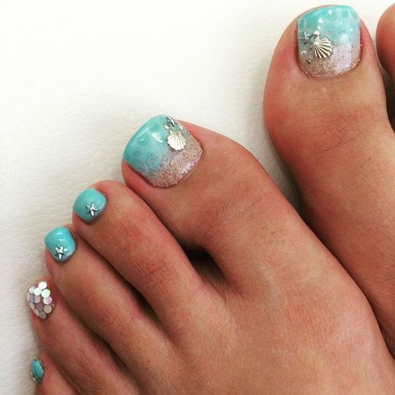 Amazing and Creative Toe Nail Art Ideas for Summer 2016 13