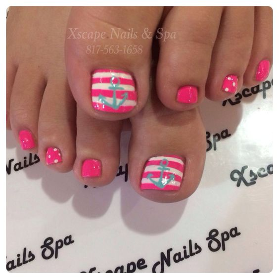 Amazing and Creative Toe Nail Art Ideas for Summer 2016 3