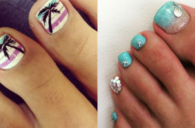 Amazing and Creative Toe Nail Art Ideas for Summer 2016