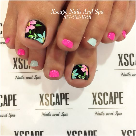 Amazing and Creative Toe Nail Art Ideas for Summer 2016 4