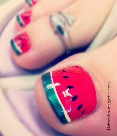 Amazing and Creative Toe Nail Art Ideas for Summer 2016 5