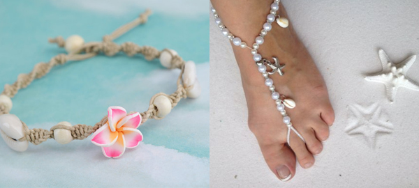 Beach Anklets for Summer 2016