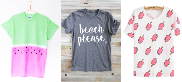 Fun and Creative T-Shirts for Summer 2016