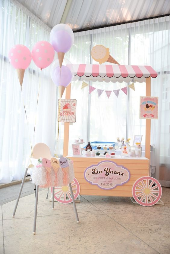 House Decorations and Accessories for Ice Cream Parties this Summer 2016 15