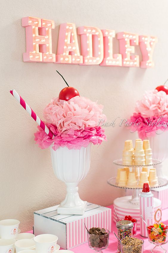 House Decorations and Accessories for Ice Cream Parties this Summer 2016 17