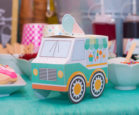 House Decorations and Accessories for Ice Cream Parties this Summer 2016 19