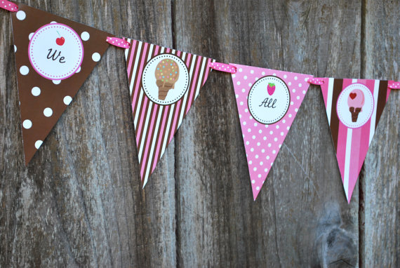 House Decorations and Accessories for Ice Cream Parties this Summer 2016 6