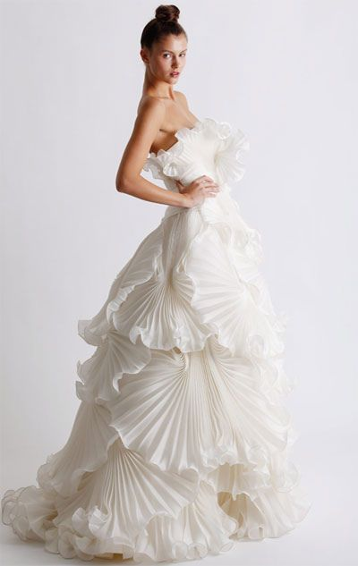 Seashell Gowns and Dresses for Brides and Bridesmaids 2016 5
