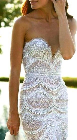 Seashell Gowns and Dresses for Brides and Bridesmaids 2016 9