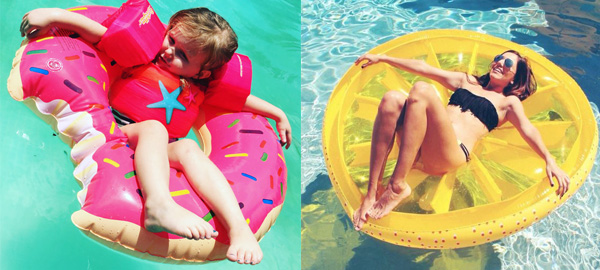 Summer Pool Floats, Inflatables & Loungers for Kids and Adults 2016