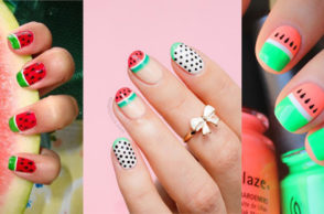 Watermelon Nail Art Designs for Summer 2016