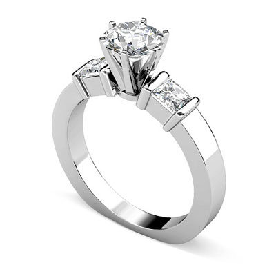 130ct round cut diamonds engagement ring - Best Wedding Rings
