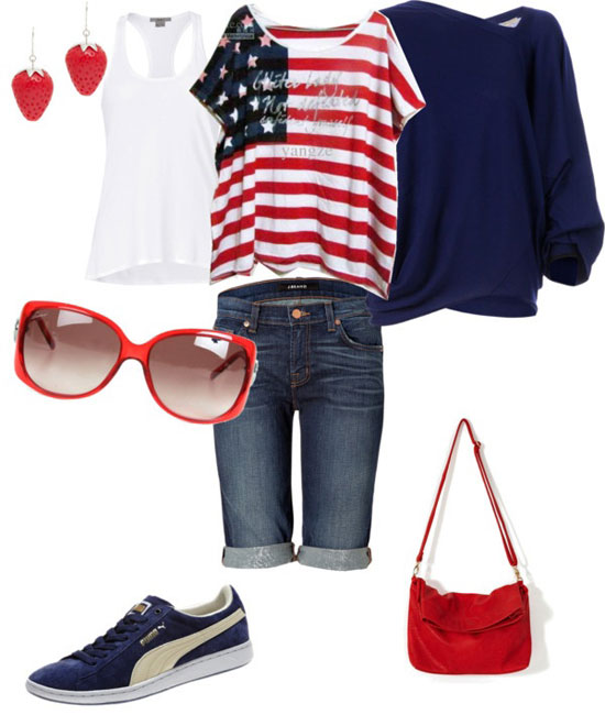 Fourth of july clothes for women
