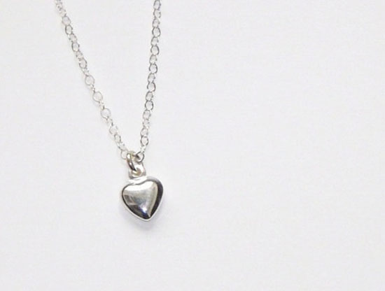 20 best valentines day gift ideas for her 2013 stuff for tiny heart necklace all sterling silver puffy heart valentines day gift for her negle Gallery