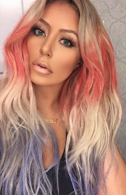 15 Independence Day Hair Styles And Colors For Kids Adults 2016