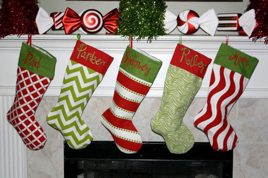 personalized christmas stockings - Christmas Stocking Design Ideas