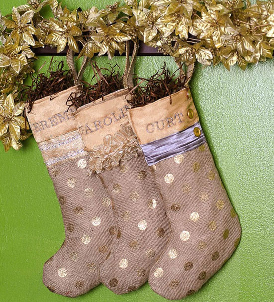 15 Cheap, Cool, Unique & Personalized Christmas Stocking Patterns ...