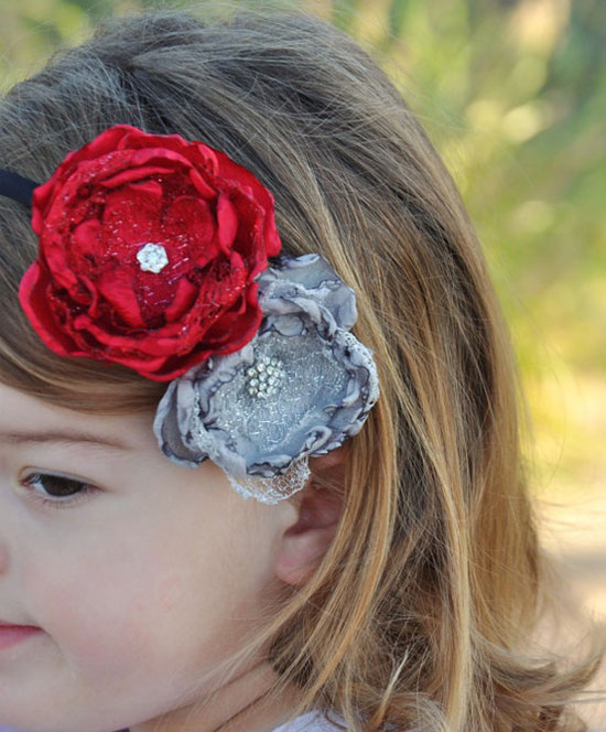 20 Cute Amp Amazing Christmas Headbands For Baby Girls