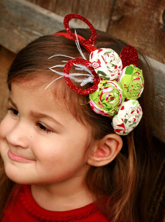 20 Cute   Amazing Christmas Headbands For Baby Girls   Kids  967ba403310