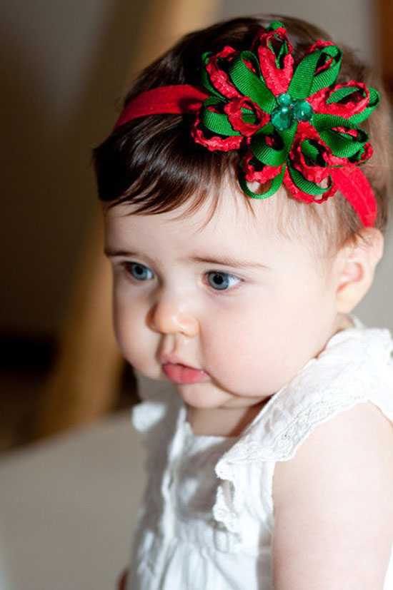 Christmas Headband For Baby Girl.15 Best Christmas Headbands 2012 For Infants Newborn Baby