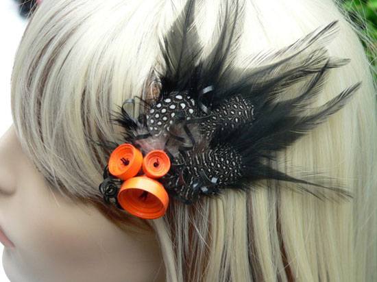 10 Scary Yet Creative Halloween Hair Bows Clips Amp Headbands 2012 For
