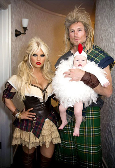 Halloween ideas for couple and baby