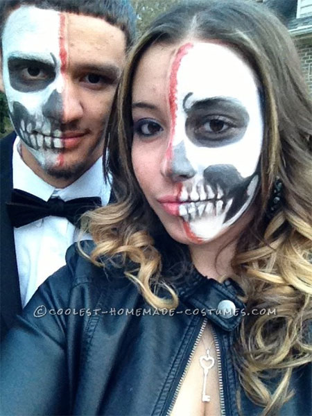 Halloween Couple Costume Ideas 2014 1000 images about halloween on pinterest halloween costume for couples couple halloween costumes and halloween couples Bone Chilling Prom Date Couple Halloween Costume