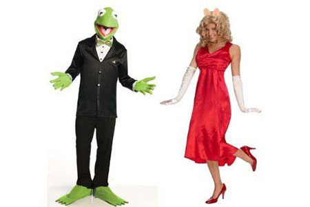 Halloween Couple Costume Ideas 2014 scary halloween costumes ideas for couples 2015jpg The Muppets Couples Costume Miss Piggy Kermit Adult Standard