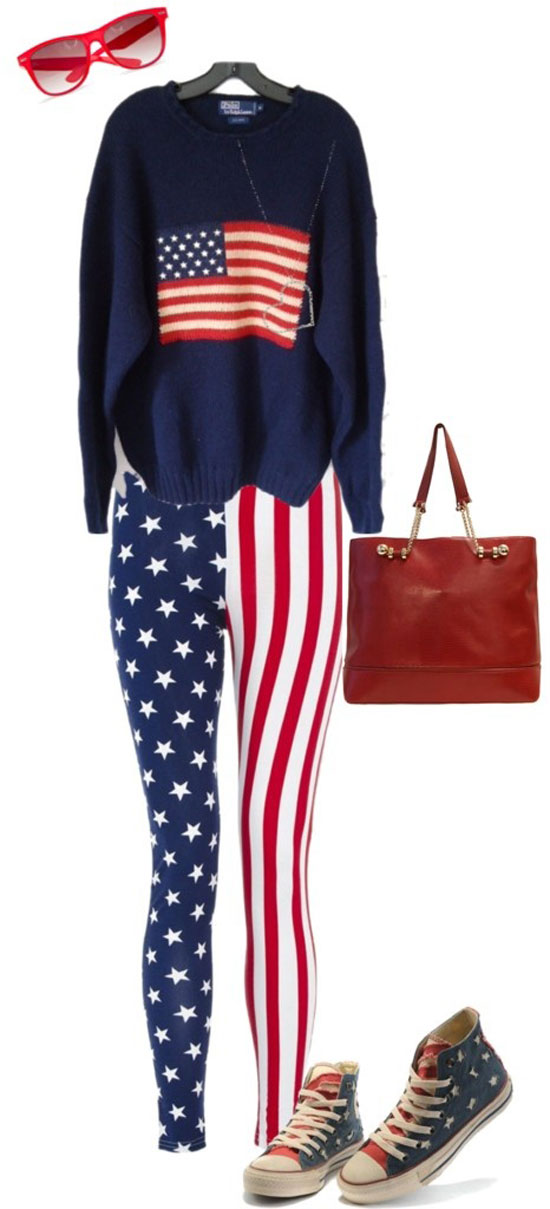 Amazing Fourth Of July Dresses Outfits For Girls 2013 4th of