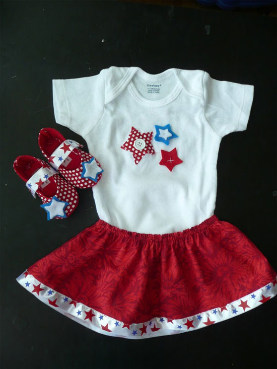 Amazing American Flag Outfits For Kids 2013 4th Of July