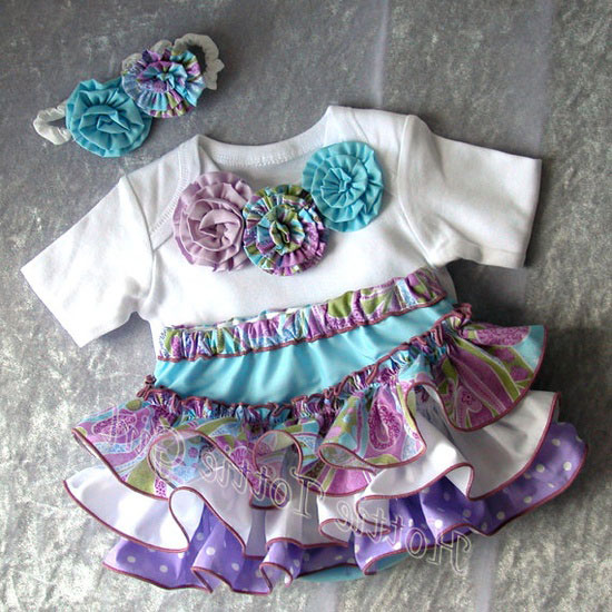 15 Cute Happy Birthday Dresses 2013 For One Year Old