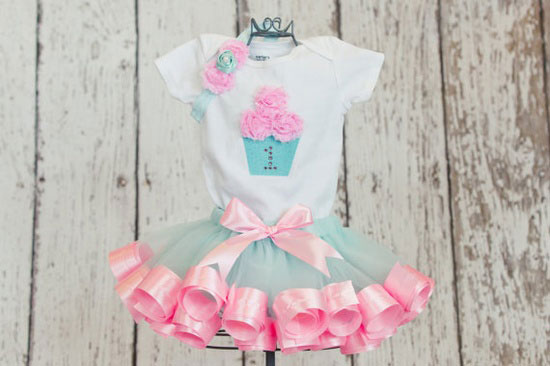 Baby Girls First Birthday Outfit