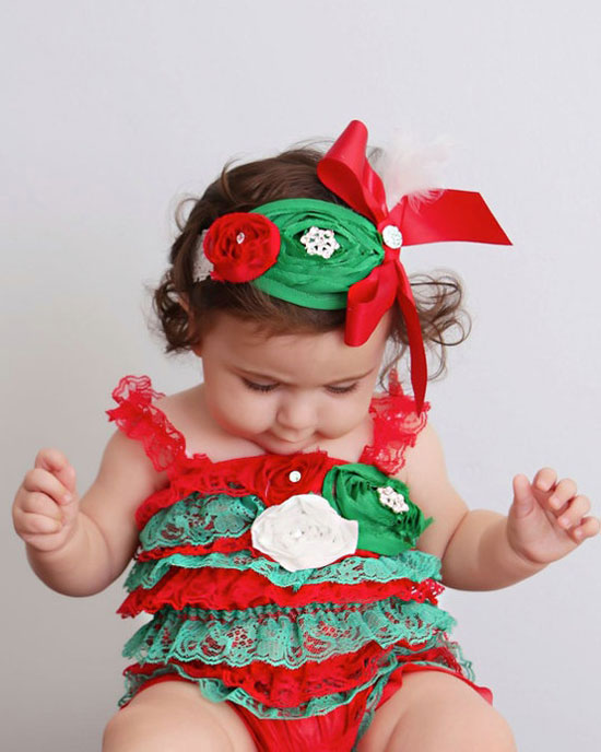 15 Beautiful & Cute Christmas Dresses & Outfits 2012 For