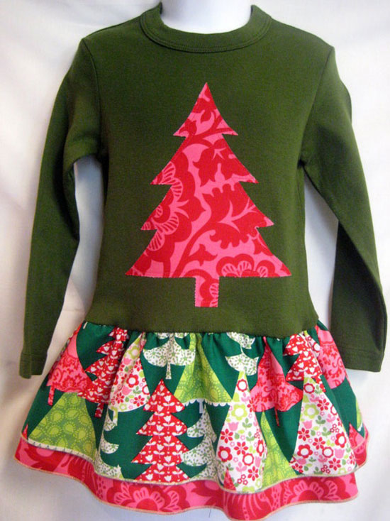 15 Best & Amazing Christmas Dresses & Outfits 2012 For Toddlers ...