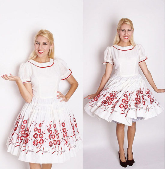 20 Best Christmas Dresses Costumes &amp Outfits 2012 For Teen Girls ...