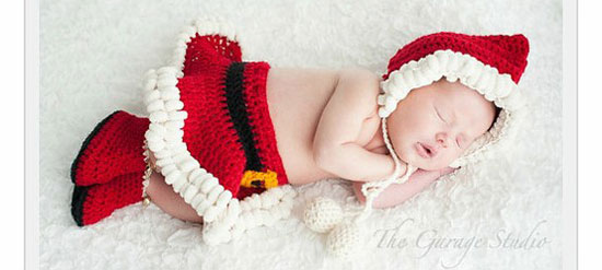 christmas santa outfit for baby girls