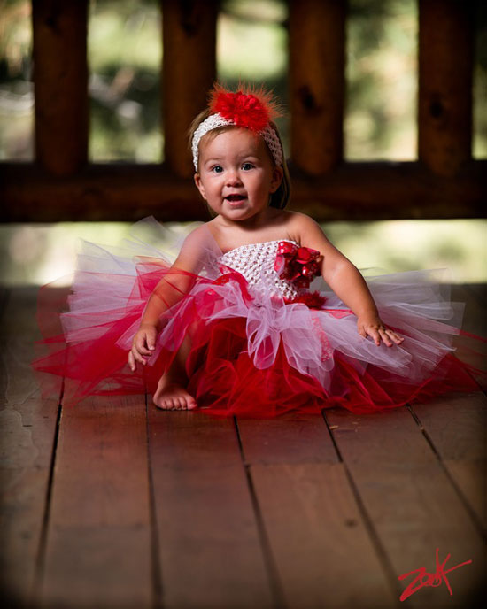 christmas red white snowflake marabou tutu dress