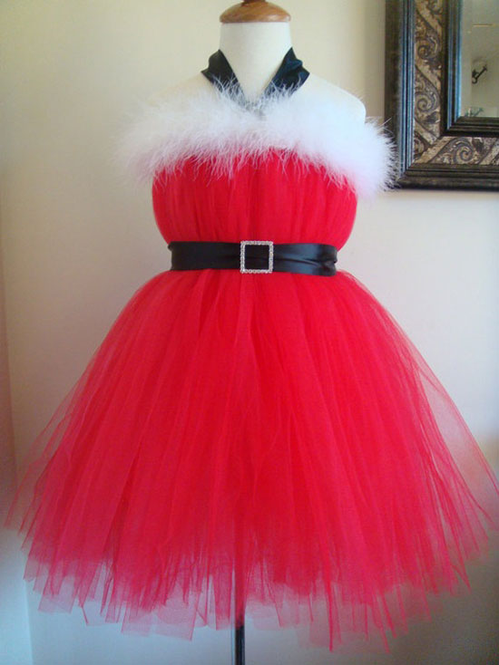 25 Best Beautiful Christmas Costumes Dresses Outfit Ideas 2012