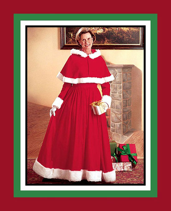 Ms. Santa Claus Holiday Charming Christmas Outfit - 20 Best Christmas Dresses, Costumes & Outfit Ideas 2012 For Teen