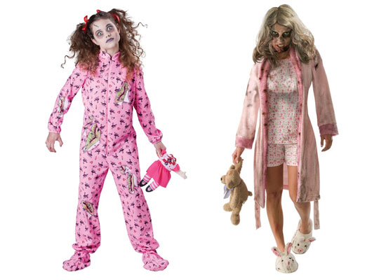zombie girl costumes for halloween