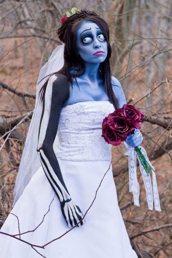 tim burtons corpse bride for halloween - Amazing Costumes For Halloween
