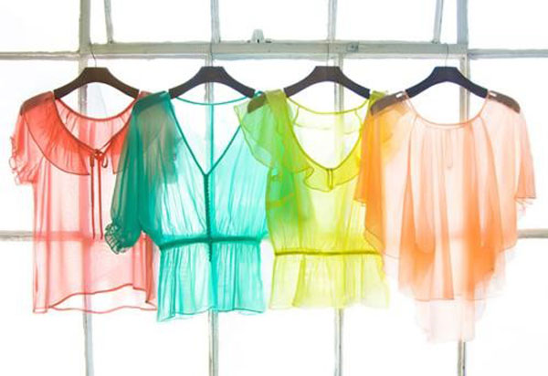 87a8d8d5891 12+ Simple & Stylish Sheer Tops, Shirts & Dresses Pics For Girls   Girlshue