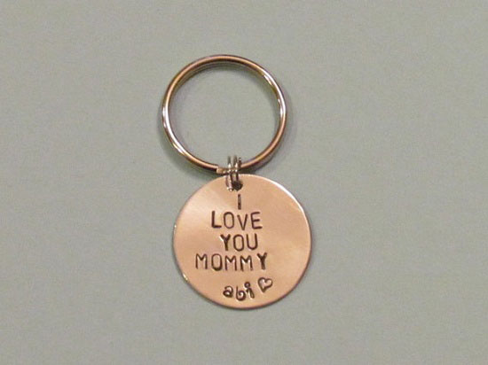 MOMMY Key Chain Mom Birthday Gift